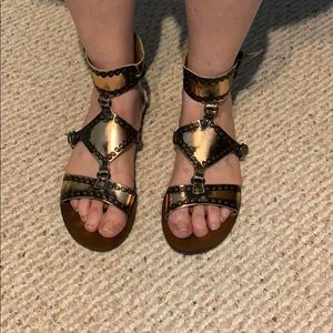 Matisse copper sandals size 9.5